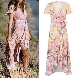 Spell & the Gypsy wrap floral dress S